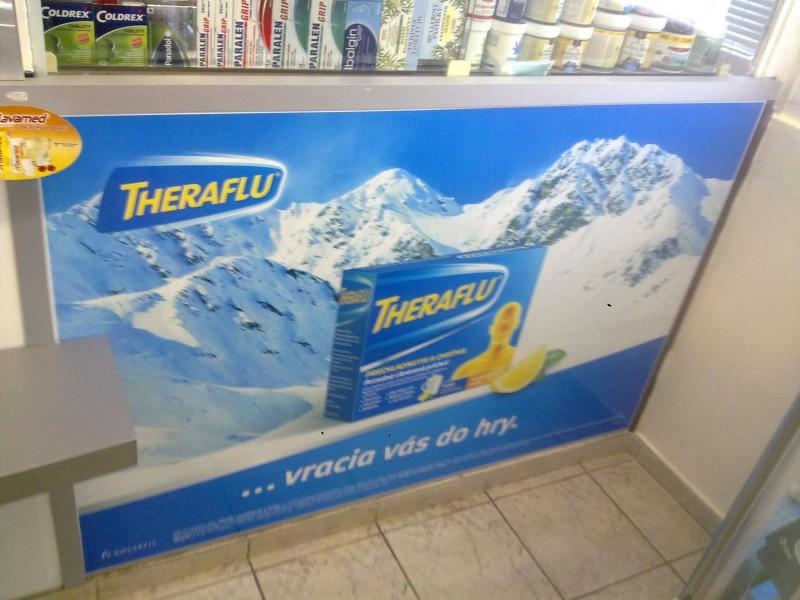 reklama v lekárni